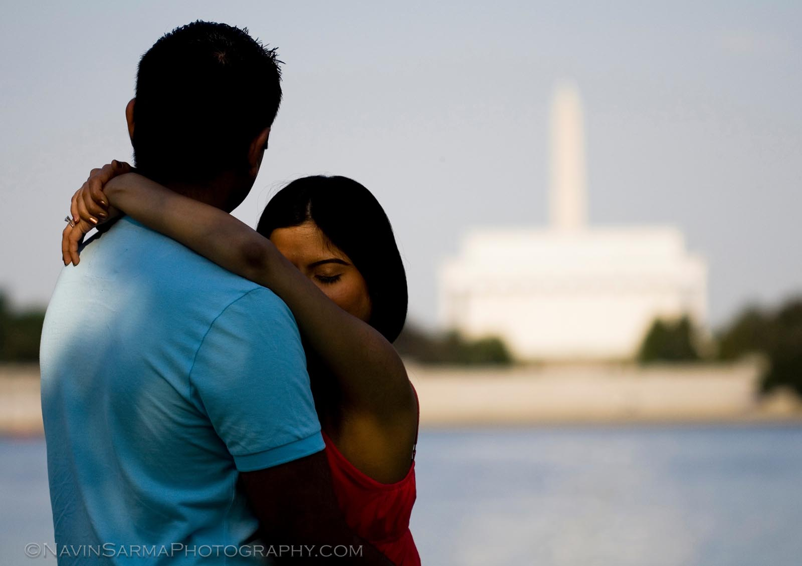 Washington DC Engagement Wedding Portrait