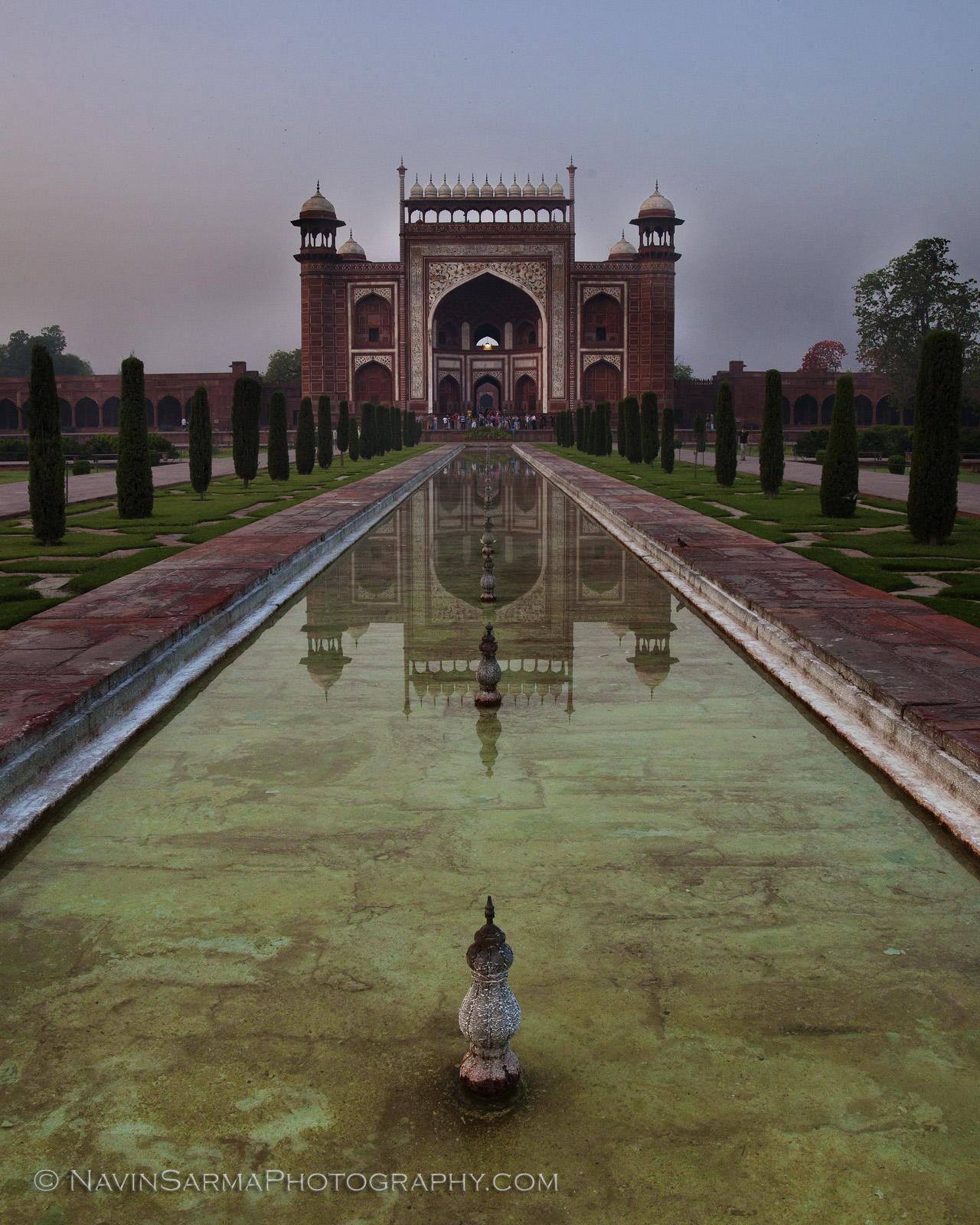 Taj Palace Reflection