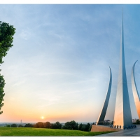 Air Force Memorial Sunrise