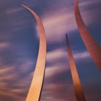 Air Force Memorial Sunset