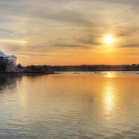 Jefferson Memorial Sunset Washington DC
