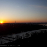Washington DC Skyline Sunrise