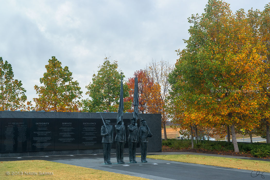 Honor Guard in Autumn