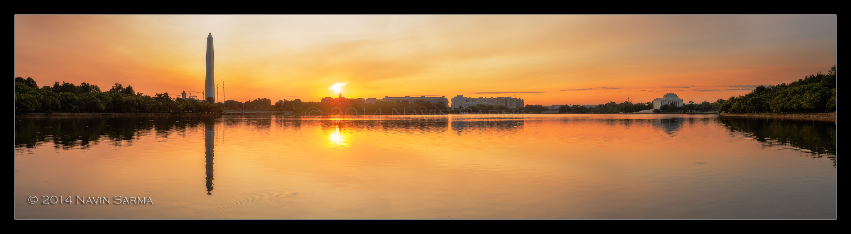 Tidal Basin Summer Panorama