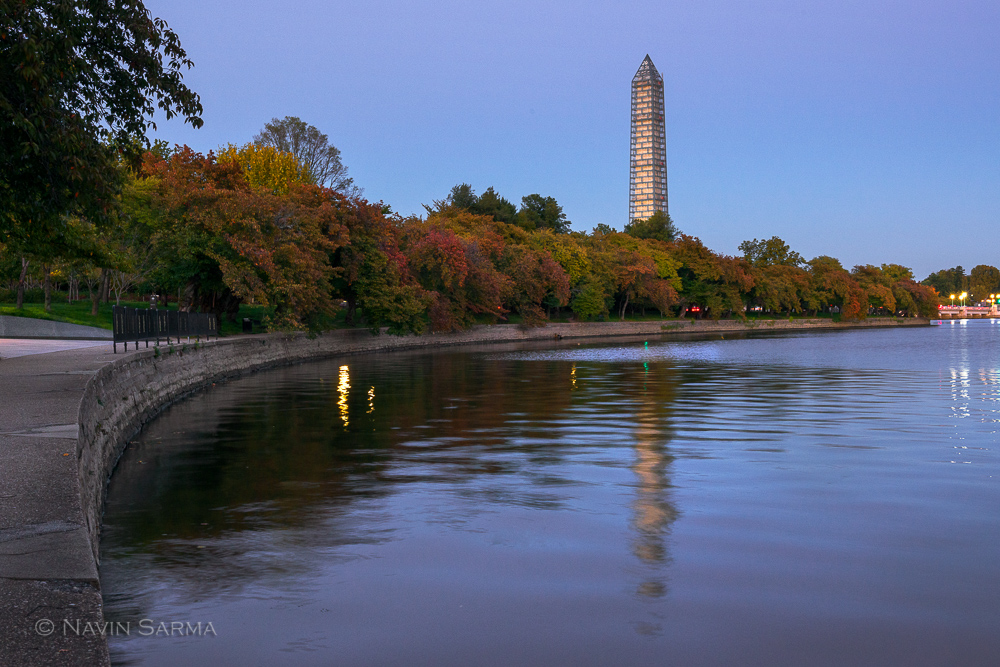 Washington Monument Autumn