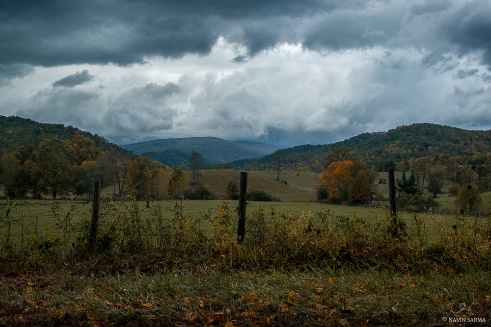 Storm Clouds in Shenandoah