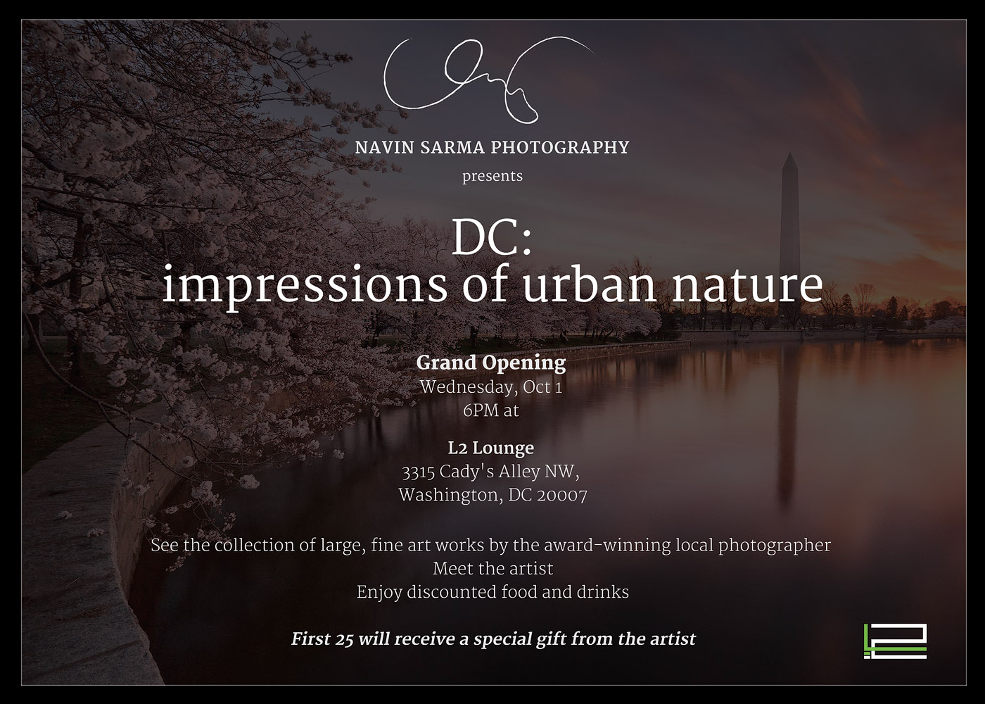 Navin Sarma Photography Washington DC Grand Opening