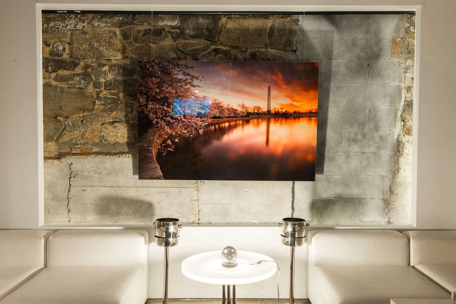 "1/8"" Acrylic Facemount Large Format images of Washington DC"