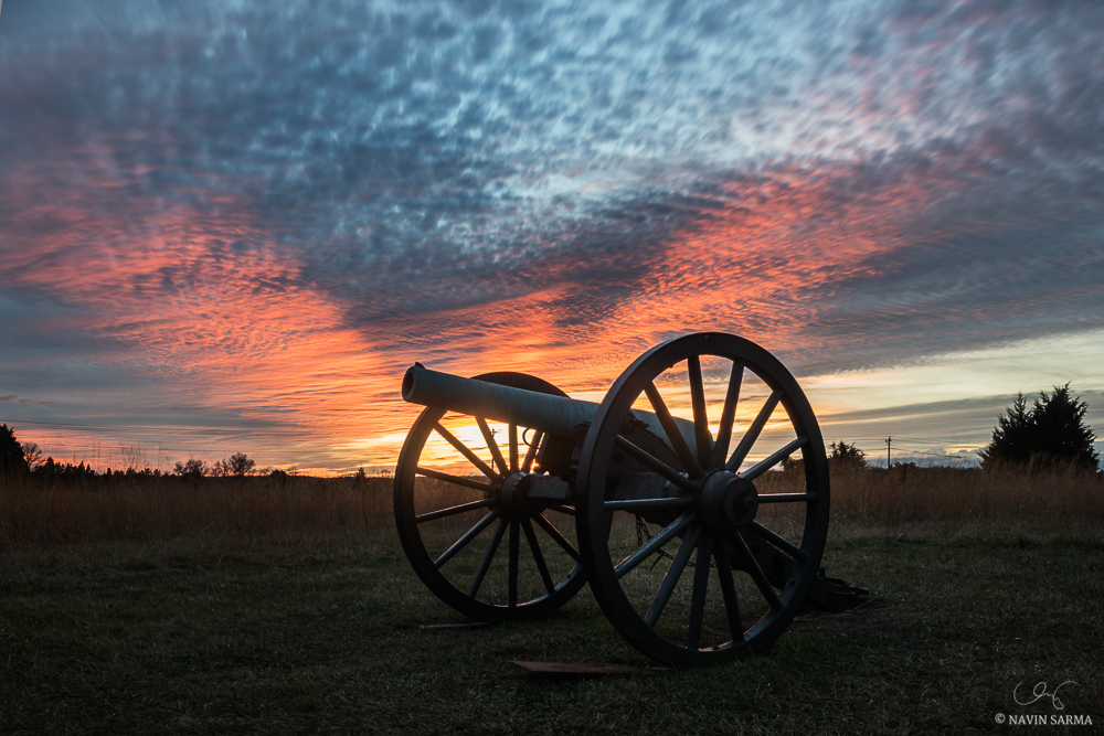 Manassas Battlefield Park Sunset 2