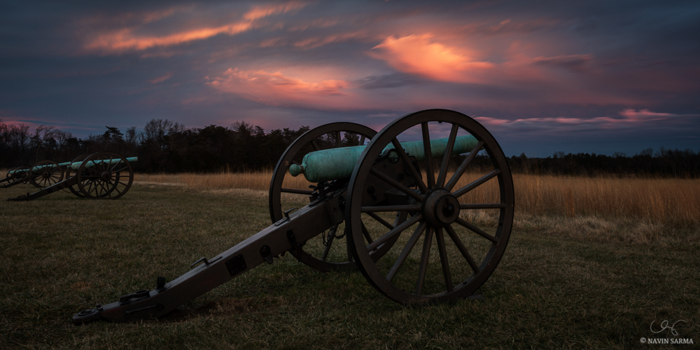 Manassas Battlefield Park Sunset