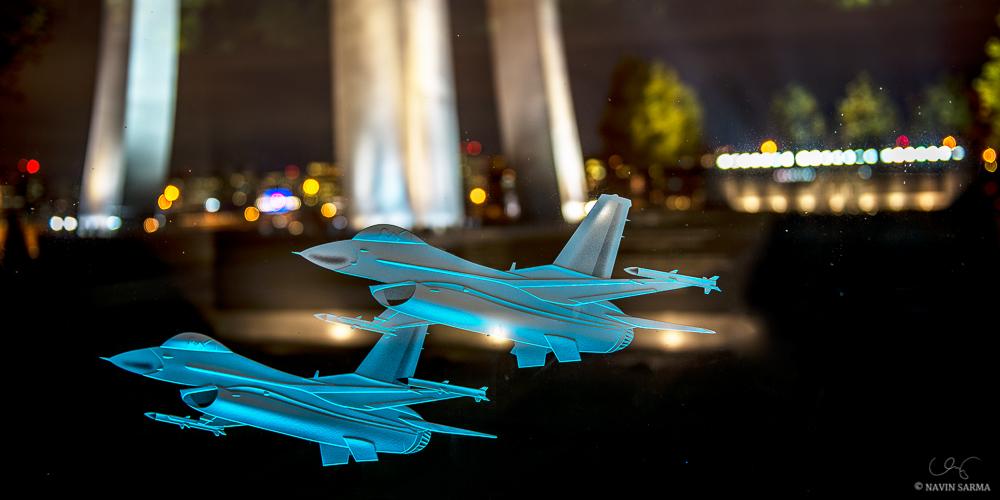 Air Force Memorial Planes