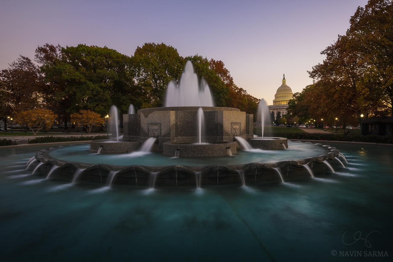 Lower Senate Park in Autumn